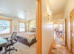 Bedroom with Hallway View - 181 S. Lena St #D Ridgway, CO 81432 - Atha Team Colorado Real Estate