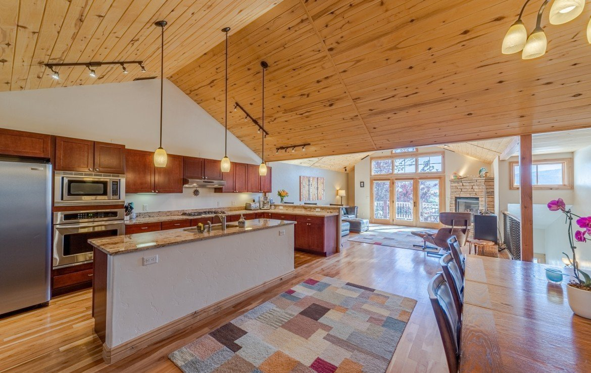 Open Concept Living - 181 S. Lena St #D Ridgway, CO 81432 - Atha Team Colorado Real Estate