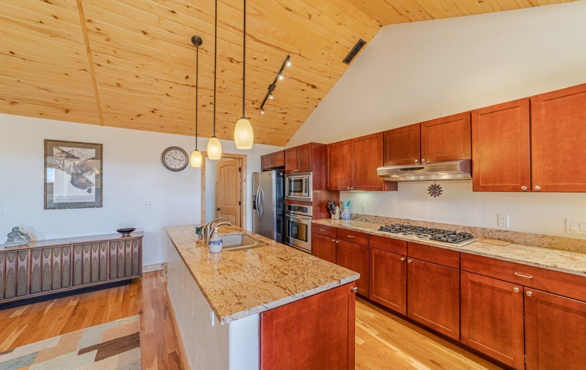 Kitchen Stainless Steel Appliances - 181 S. Lena St #D Ridgway, CO 81432 - Atha Team Colorado Real Estate