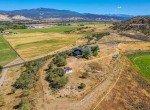Aerial View Rear of Property - 21835 Government Springs Rd - Atha Team Realty Montrose Colorado
