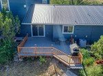 Aerial View Back of Guest House - 21835 Government Springs Rd - Atha Team Realty Montrose Colorado