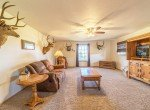 Upstairs Living Room - 21835 Government Springs Rd - Atha Team Realty Montrose Colorado