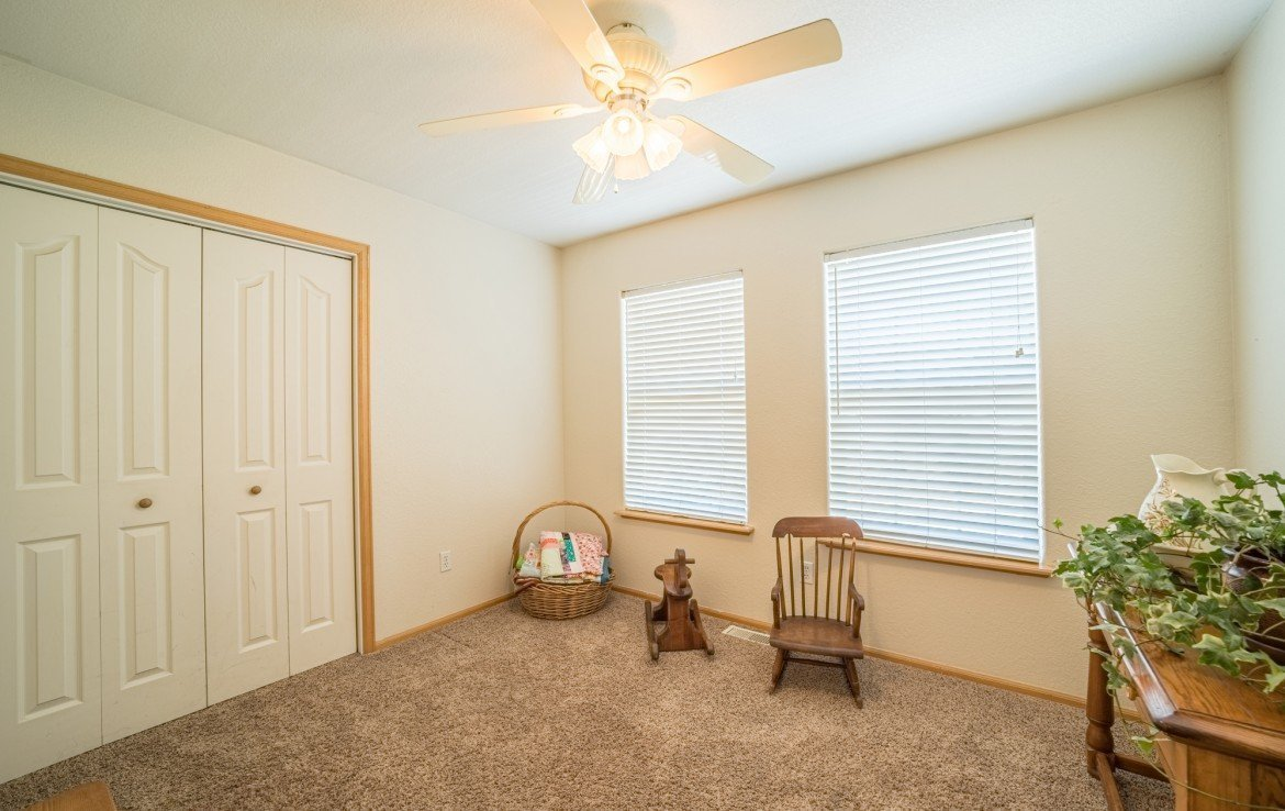 Upstairs Bedroom - 21835 Government Springs Rd - Atha Team Realty Montrose Colorado