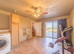 Large Laundry Room with Walk-Out Deck - 21835 Government Springs Rd - Atha Team Realty Montrose Colorado