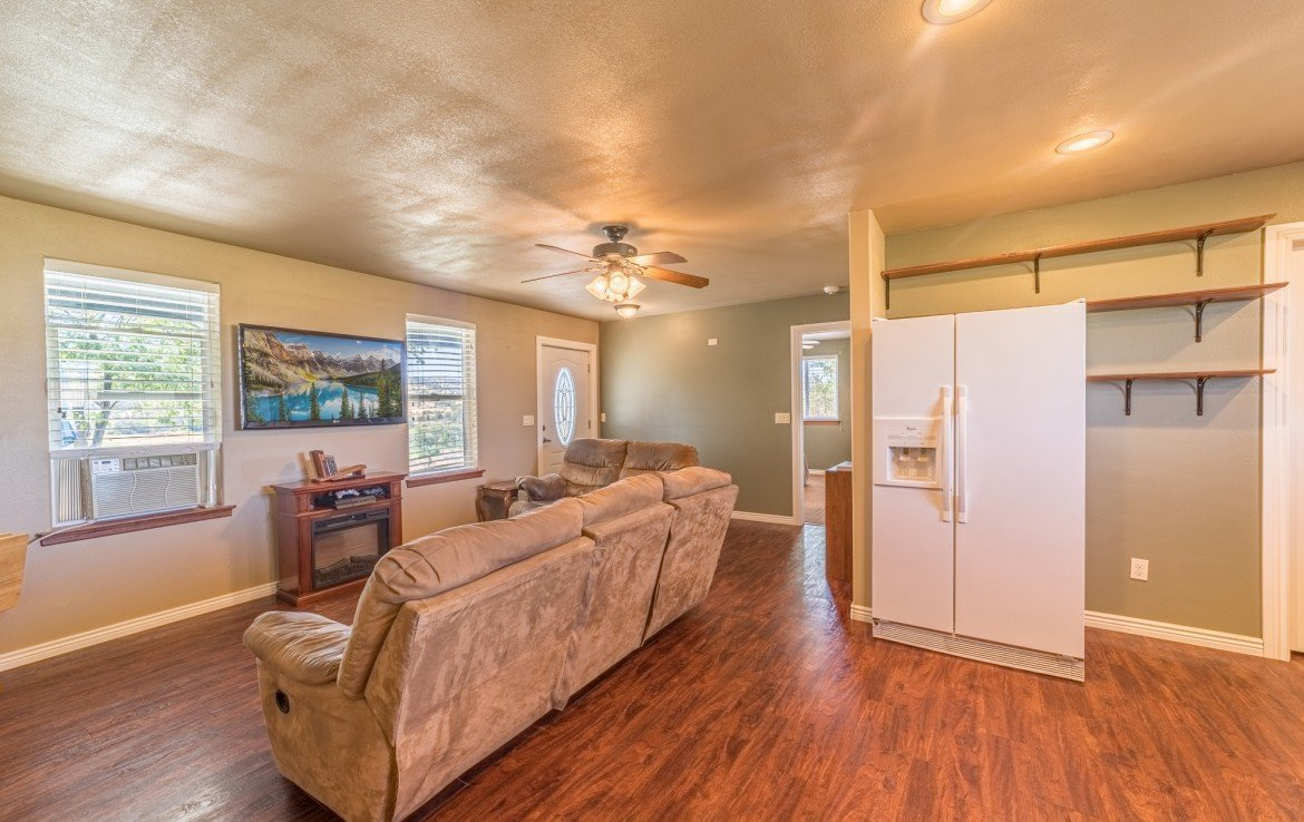 Guest House Living Room - 21835 Government Springs Rd - Atha Team Realty Montrose Colorado