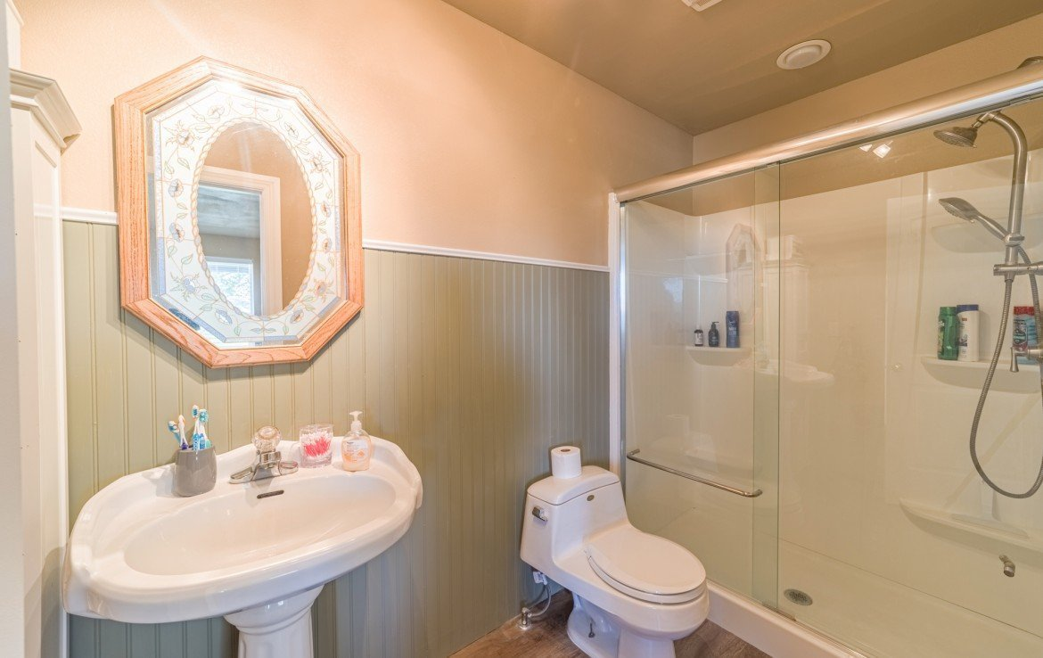 Guest House Bathroom - 21835 Government Springs Rd - Atha Team Realty Montrose Colorado