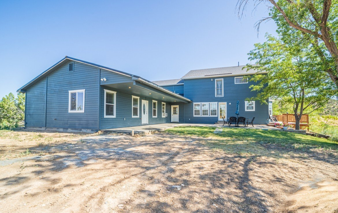 Back Yard - 21835 Government Springs Rd - Atha Team Realty Montrose Colorado