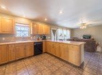 Kitchen with Dishwasher - 21835 Government Springs Rd - Atha Team Realty Montrose Colorado