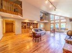 Living Room Built in Shelving and Cabinets - 430 Pinecrest Dr Ouray, CO 81427 - Atha Team Realty