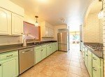 Remodeled Kitchen with Tile Flooring - 430 Pinecrest Dr Ouray, CO 81427 - Atha Team Realty