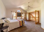 Master Bedroom with Vaulted Ceiling - 430 Pinecrest Dr Ouray, CO 81427 - Atha Team Realty