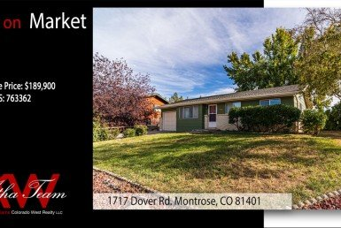 Back on Market-1717 Dover Rd Montrose, CO 81401 - Atha Team Real Estate - Keller Williams Realty LLC