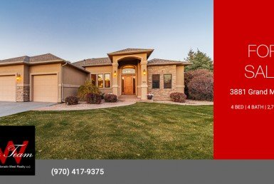 Cobble Creek Home for Sale - 3881 Grand Mesa Dr Montrose - Atha Team Real Estate