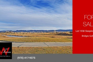 Bridges Golf Course Lot for Sale - Lot 1938 Sleeping Bear Rd Montrose, CO 81401 - Atha Team Realtor in Montrose