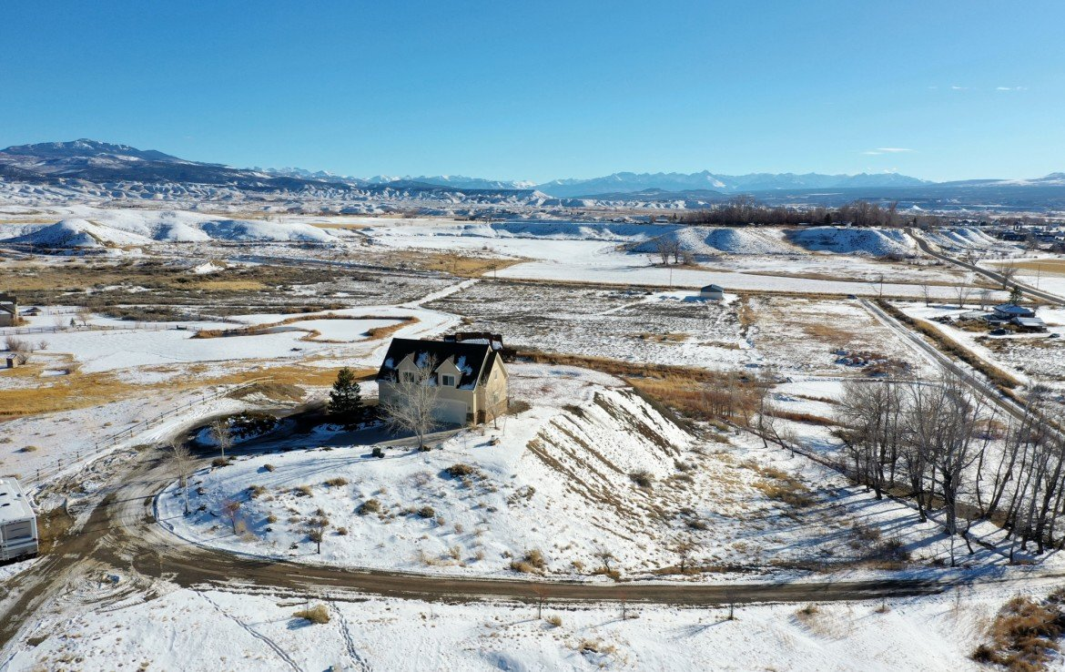 Aerial Image facing South - 68057 Sunnyside Rd Montrose, CO 81401 - Atha Team Real Estate for Sale