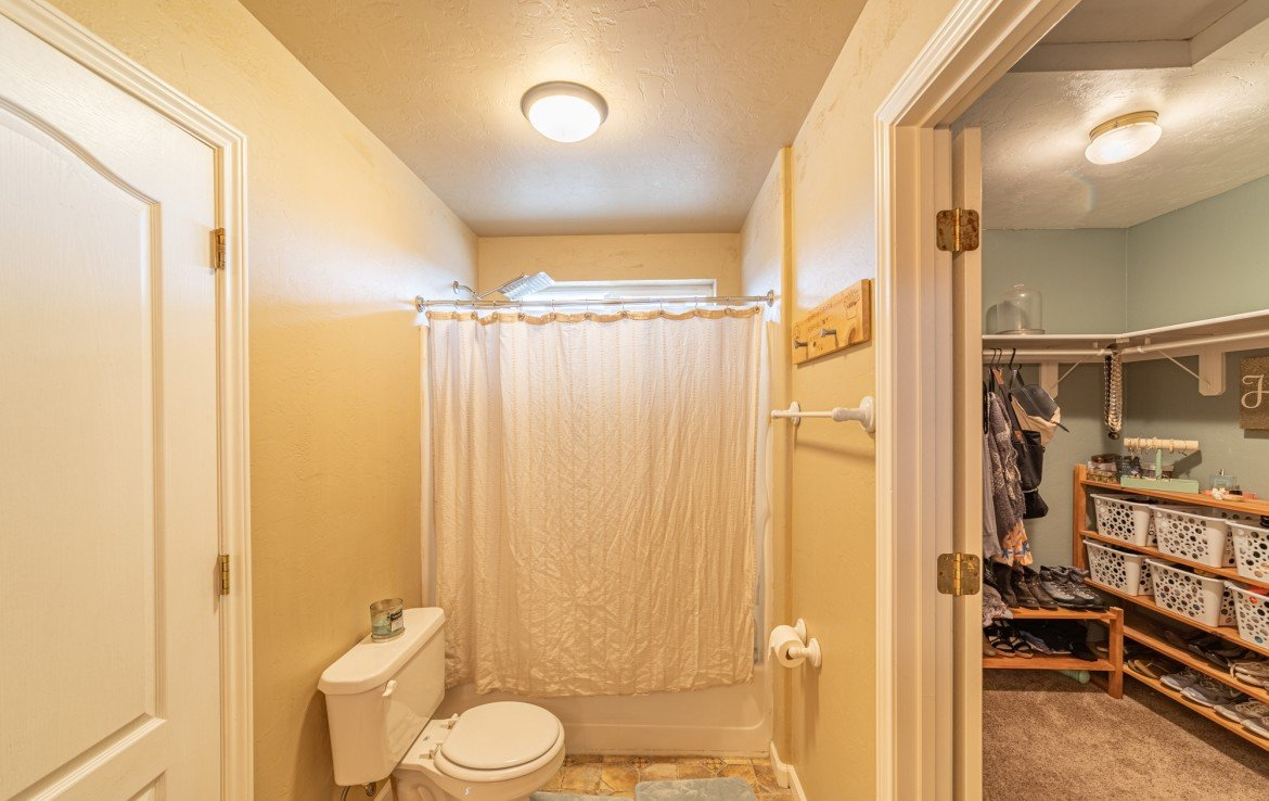 Master Bath with Walk In Closet - Atha Team Realty Agents at Keller Williams