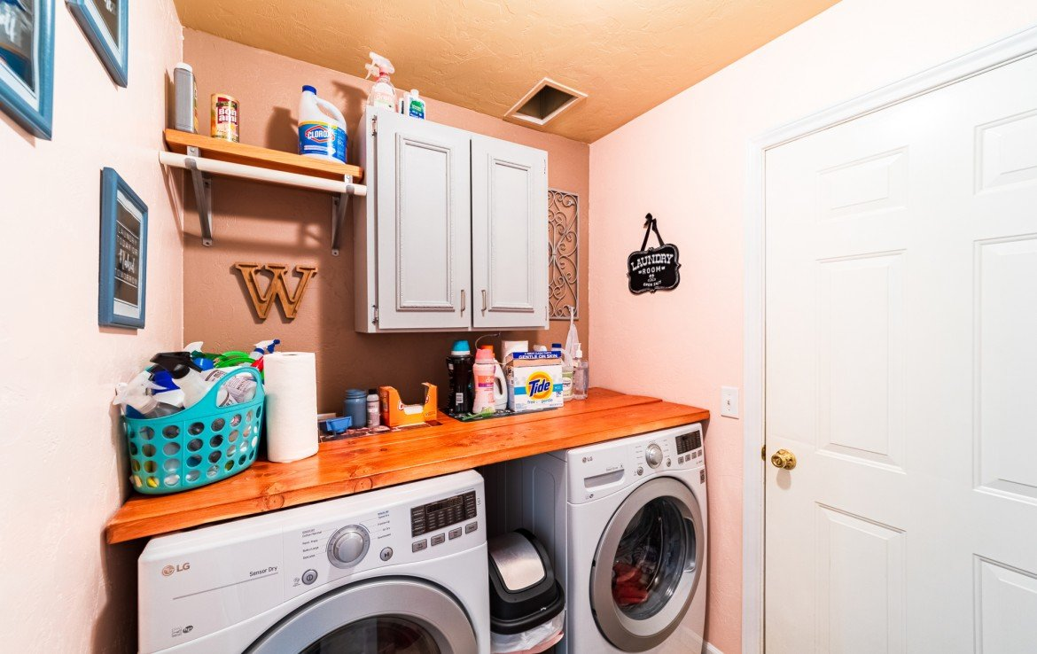 Laundry Room - 1100 Hemlock Way Montrose - Atha Team Realty Agents at Keller Williams