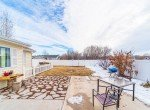 Back Patio with Privacy Fencing - 1100 Hemlock Way Montrose - Atha Team Realty Agents at Keller Williams