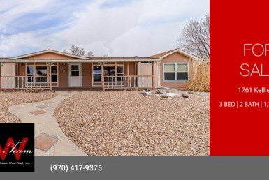 Home for Sale with Detached Garage - 1761 Kellie Dr Montrose, CO 81401 - Atha Team Realty