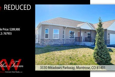 Price Reduced - 3330 Meadows Parkway Montrose CO Home for Sale - Atha Team Realty