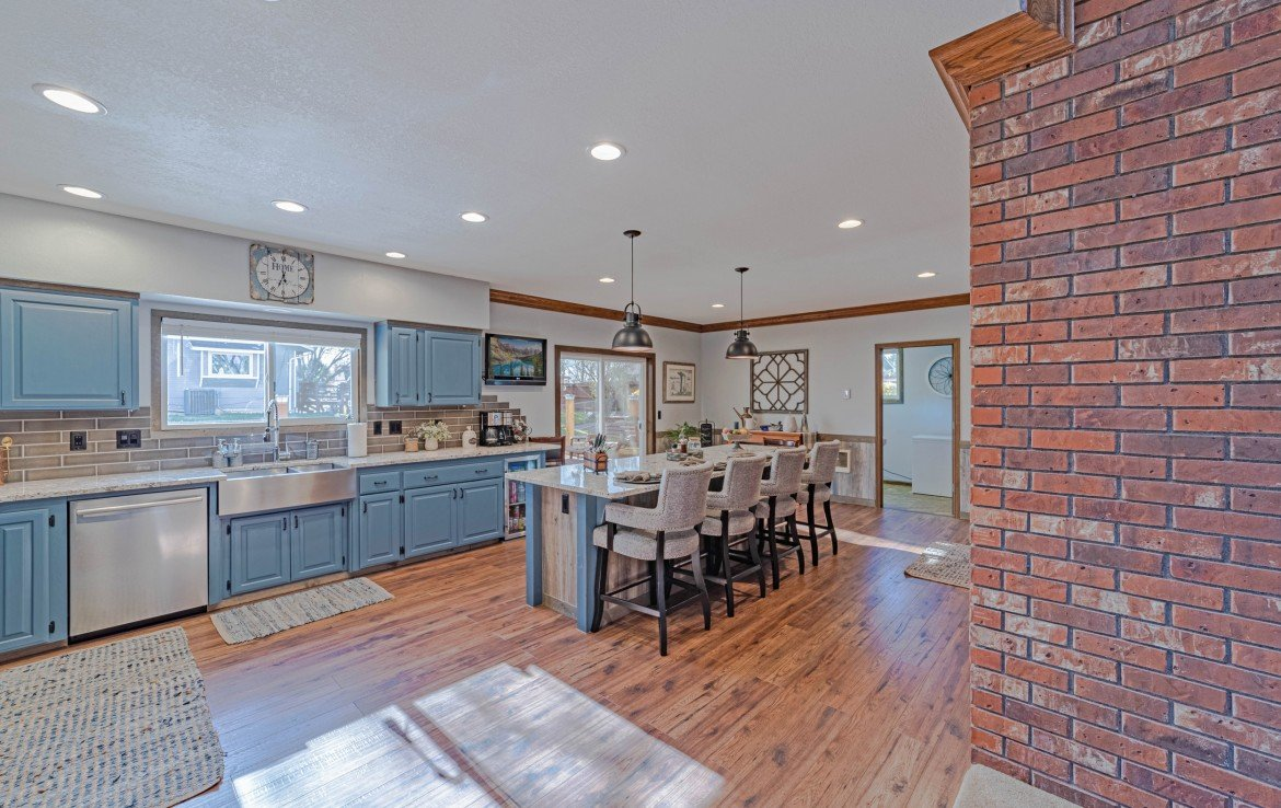 Kitchen and Dining Room - 1649 Hermosa St Montrose, CO 81401 - Atha Team Real Estate