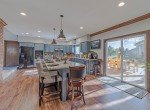 Kitchen with Island Dining - 1649 Hermosa St Montrose, CO 81401 - Atha Team Real Estate