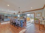 Kitchen and Dining Room with Walk Out Patio - 1649 Hermosa St Montrose, CO 81401 - Atha Team Real Estate