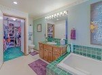 Guest Bathroom with Tile Accents - 1649 Hermosa St Montrose, CO 81401 - Atha Team Real Estate