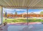 Covered Back Patio with Fencing - 1649 Hermosa St Montrose, CO 81401 - Atha Team Real Estate