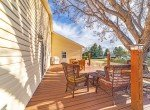 Side Deck Porch with Mature Tree - 1649 Hermosa St Montrose, CO 81401 - Atha Team Real Estate