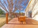 Side Deck Porch with Lighting - 1649 Hermosa St Montrose, CO 81401 - Atha Team Real Estate