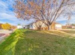 Back Yard View with Storage Shed - 1649 Hermosa St Montrose, CO 81401 - Atha Team Real Estate