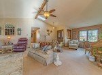 Living Room with Vaulted Ceiling - 1649 Hermosa St Montrose, CO 81401 - Atha Team Real Estate