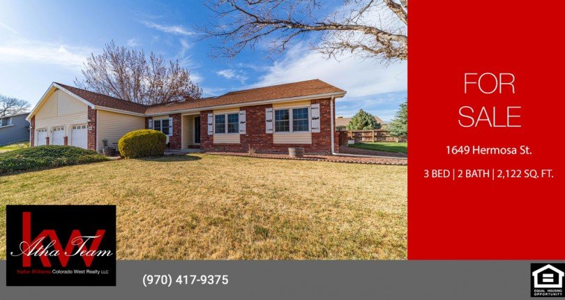 3-Bedroom-Home-with-3-Car-Garage-for-Sale---1649-Hermosa-St-Montrose-CO---Atha-Team-Realty