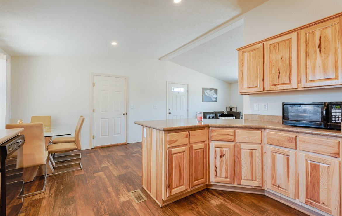 Kitchen with Canned Lighting - 121 Castle Ave Montrose CO - Atha Team Property
