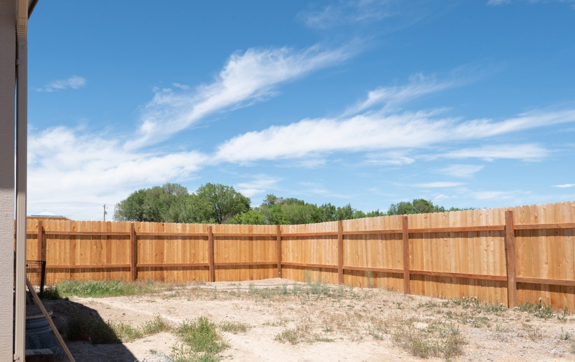 Privacy Fenced Back Yard - 121 Castle Ave Montrose CO - Atha Team Property