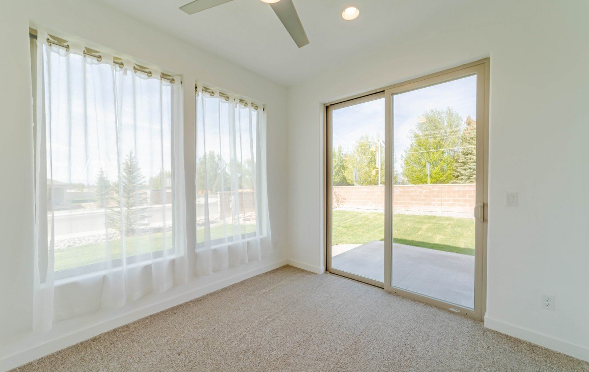 Sun Room with Ceiling Fan - 3501 Woodbridge Pl Montrose CO 81401 - Atha Team Real Estate