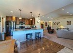 Kitchen with Counter Seating - 413 Alta Lakes Ave Montrose, CO - Atha Team Realty
