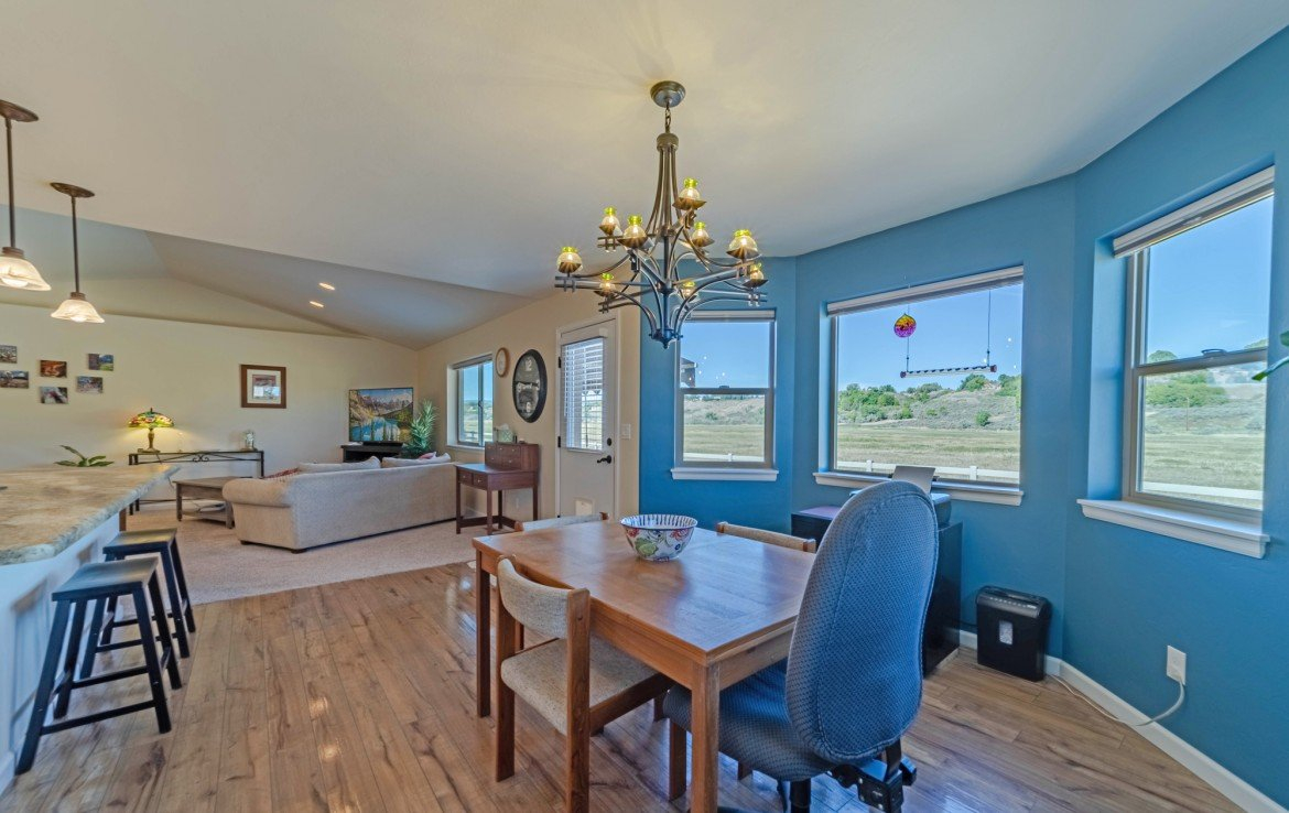 Dining and Living Rooms - 413 Alta Lakes Ave Montrose, CO - Atha Team Realty