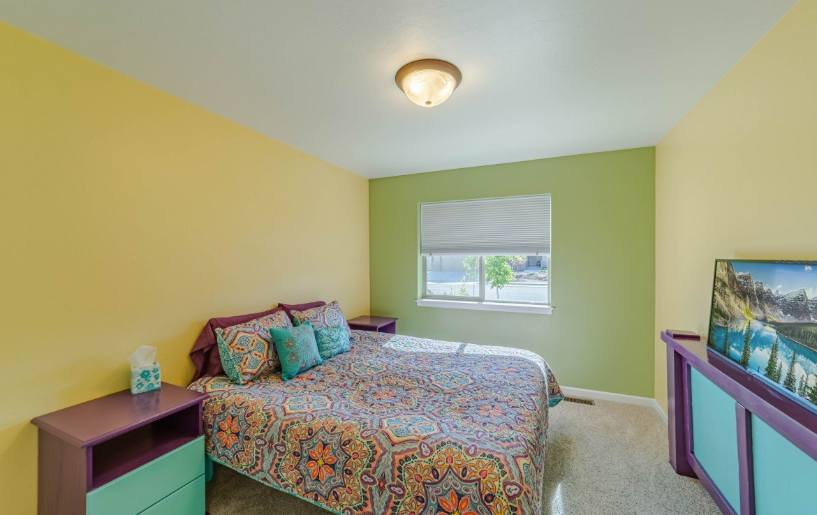 Bedroom with Carpet - 413 Alta Lakes Ave Montrose, CO - Atha Team Realty