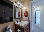 Guest Bathroom with Vanity - 413 Alta Lakes Ave Montrose, CO - Atha Team Realty