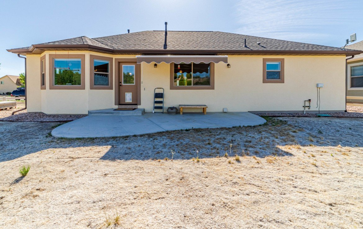 Rear View of Home - 413 Alta Lakes Ave Montrose, CO - Atha Team Realty