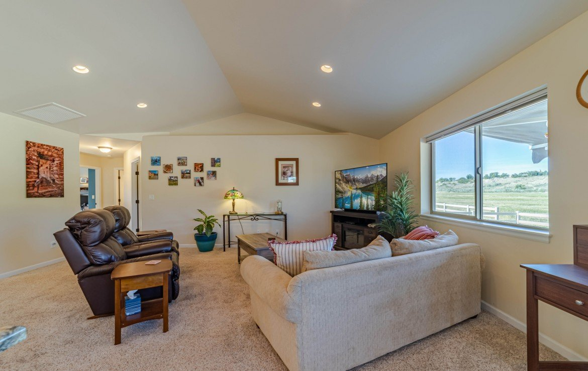 Living Room with Canned Lighting - 413 Alta Lakes Ave Montrose, CO - Atha Team Realty