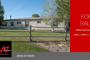 Country Home for Sale - 64992 Kourtney Ln Montrose CO 81403 - Atha Team Real Estate Agents