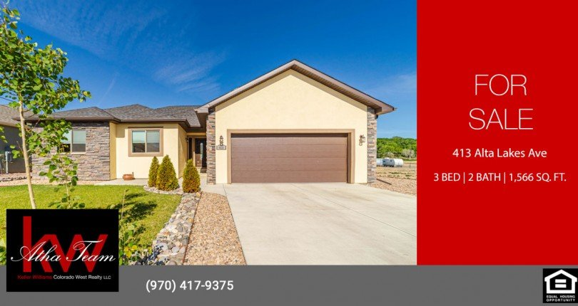 Home for Sale - 413 Alta Lakes Ave Montrose, CO 81403 - Atha Team Real Estate