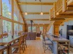 Log Cabin with Cathedral Ceilings - 84 Columbine Trail Cimarron Colorado 81220 - Atha Team Realty