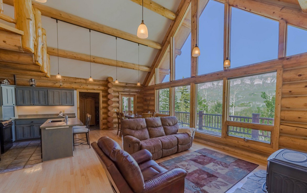 A-Frame Mountain Views - 84 Columbine Trail Cimarron Colorado 81220 - Atha Team Realty