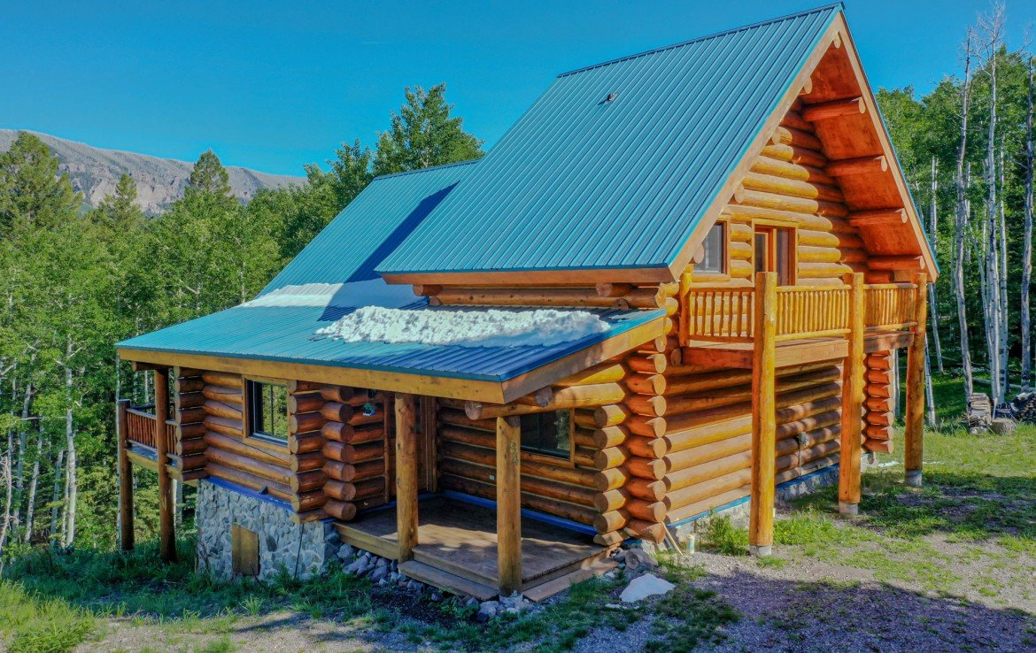 Mountain Cabin for Sale - 84 Columbine Trail Cimarron Colorado 81220 - Atha Team Realty