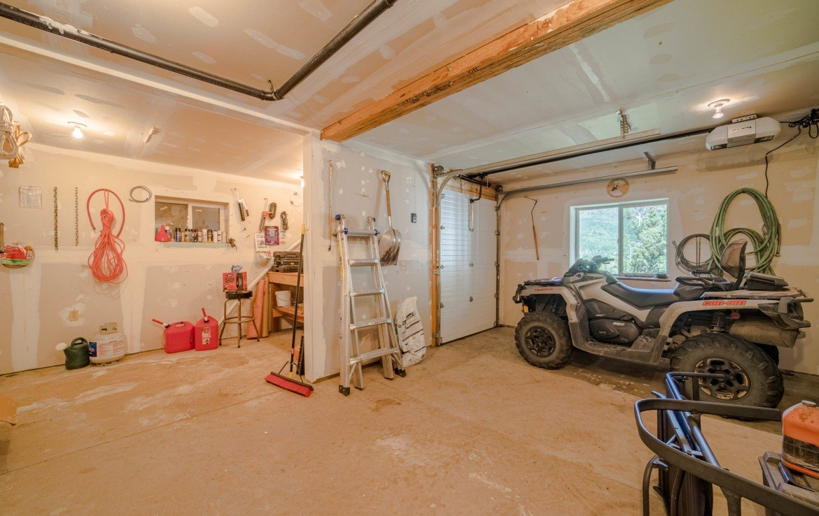 Basement with Toy Storage - 84 Columbine Trail Cimarron Colorado 81220 - Atha Team Realty