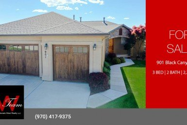 Lock and Leave Cobble Creek Patio Home for Sale - 901 Black Canyon Way Montrose, CO - Atha Team Real Estate Agents